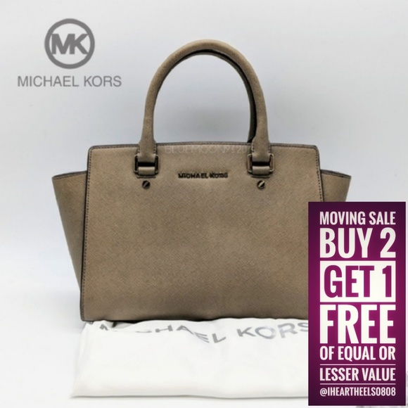 Michael Kors Handbags - MICHAEL KORS Selma Satchel